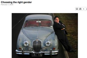 Tony Briffa in The Age: Choosing the right gender