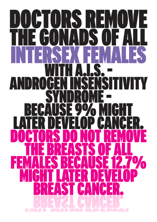 Doctors Remove the Gonads of AIS Females Because...