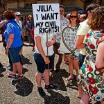 Julia, I want my civil rights!