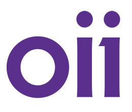 Reaching out to help - the OII Australia logo.
