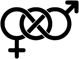 An icon often used by bisexual people.