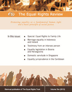 Equal Rights Trust publishes testimony on intersex issues