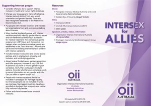 Intersex for allies