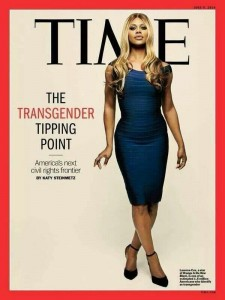Laverne Cox - Time cover
