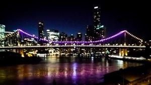 Brisbane's Story Bridge lit for Intersex Awareness Day