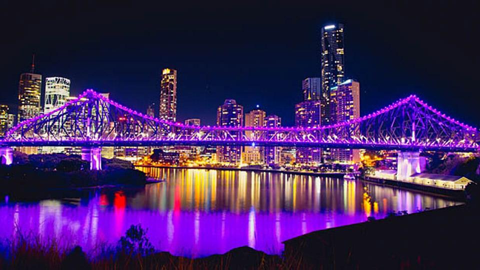 The Story Bridge in Brisbane