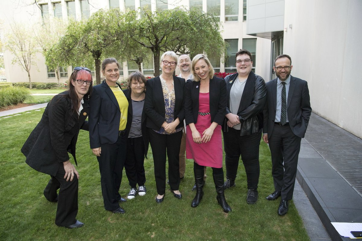 Intersex advocates and the Greens